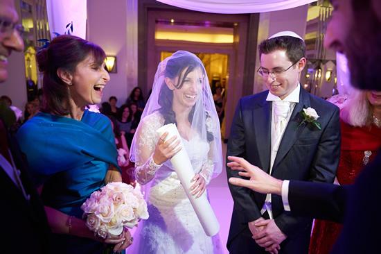 Jewish Wedding – Rachel & Justin at Claridges Hotel, Mayfair, London.